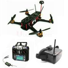RTF ZMR250 Carbon Fiber frame Assembled Drone with FPV System Full Set ZMR 2204-2300KV Emax ESC BLHeli OPTO frame with camera
