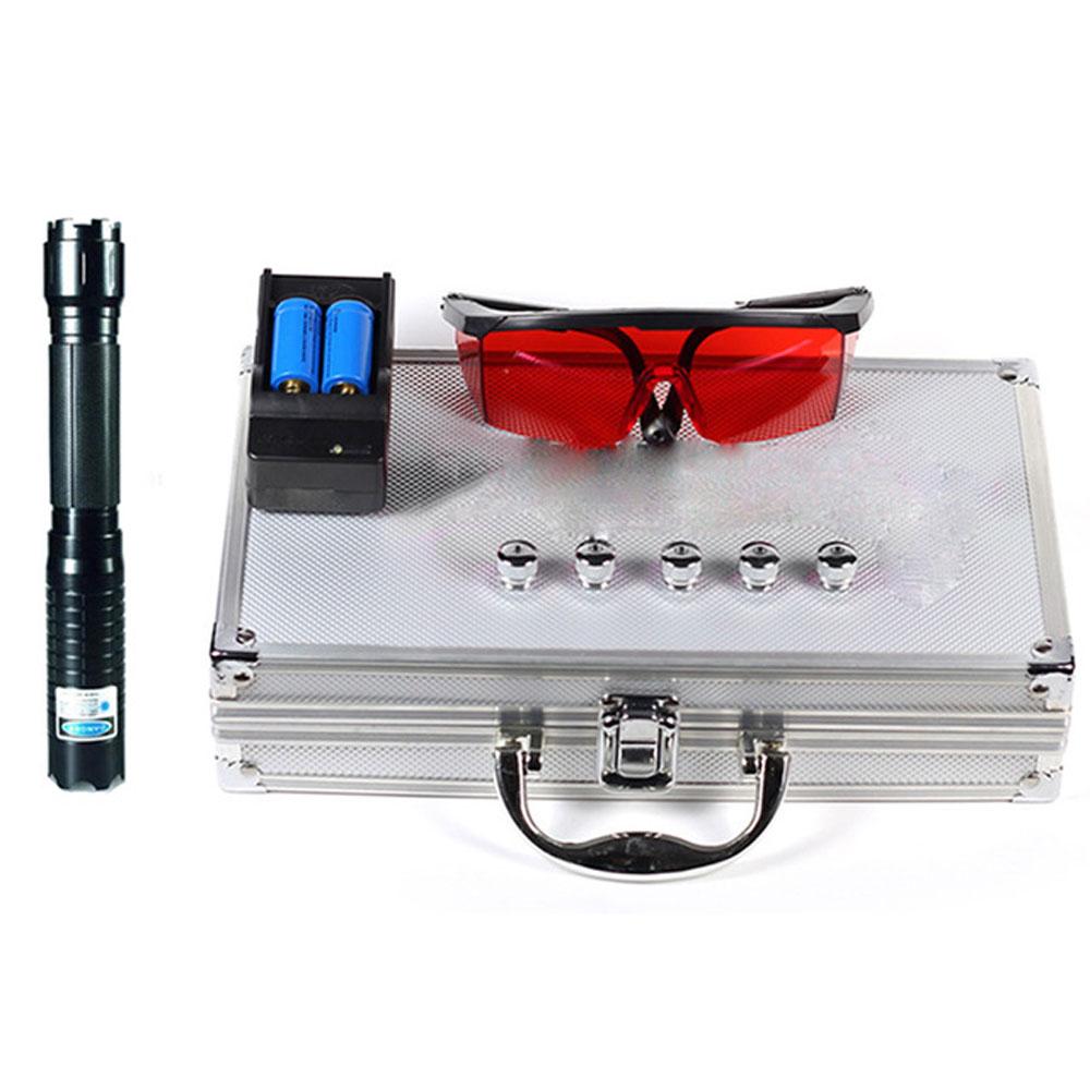 Most Powerful Blue Burning Laser Torch 70000m Blue Laser Pointer 450nm Ignite Powerful Powerful Lazer Self-Defense