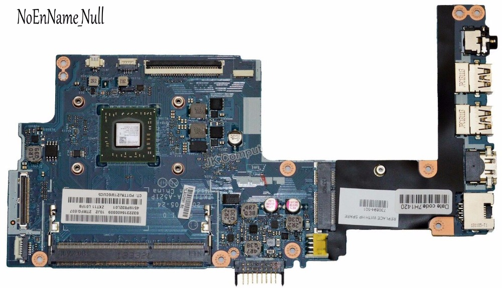 730894-001 For HP 11-E Laptop Motherboard LA-A521P 730894-501 with A6-1450 Processor Full Tested Free Shipping730894-001 For HP 11-E Laptop Motherboard LA-A521P 730894-501 with A6-1450 Processor Full Tested Free Shipping