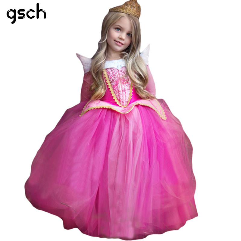 Christmas Girls Dresses Children Princess Cinderella Dress For Girls Cosplay Costume Kids Tutu Dress Party Girl Clothes vestidos