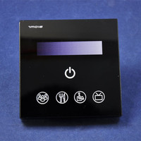 Free Shipping Cost High Quality Touch Panel 0 10V LED Dimmer with Wireless Remote Control for LED Panel 0 10V Dimming Function