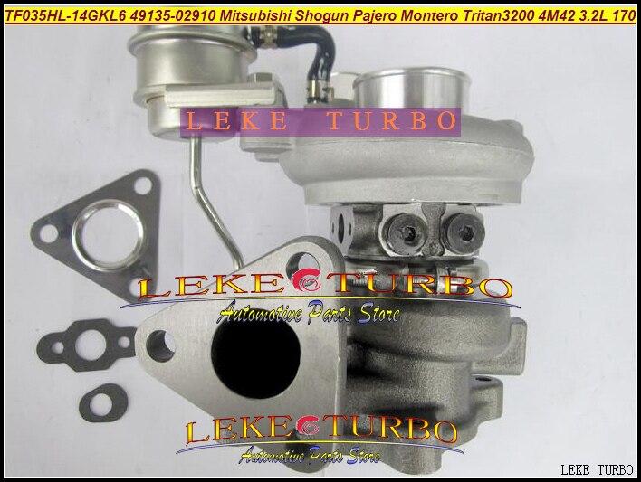 Turbo TF035 49135-02910 49135-02920 1515A123 Turbocharger For Mitsubishi Shogun Pajero Montero 2007- 4M42 4M42T TRITAN 3200 3.2L футболка print bar shogun assassin