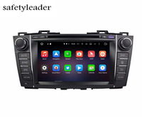 1024 600 Octa Core 2 Din 8 Android 6 0 Car DVD GPS For Mazda 5