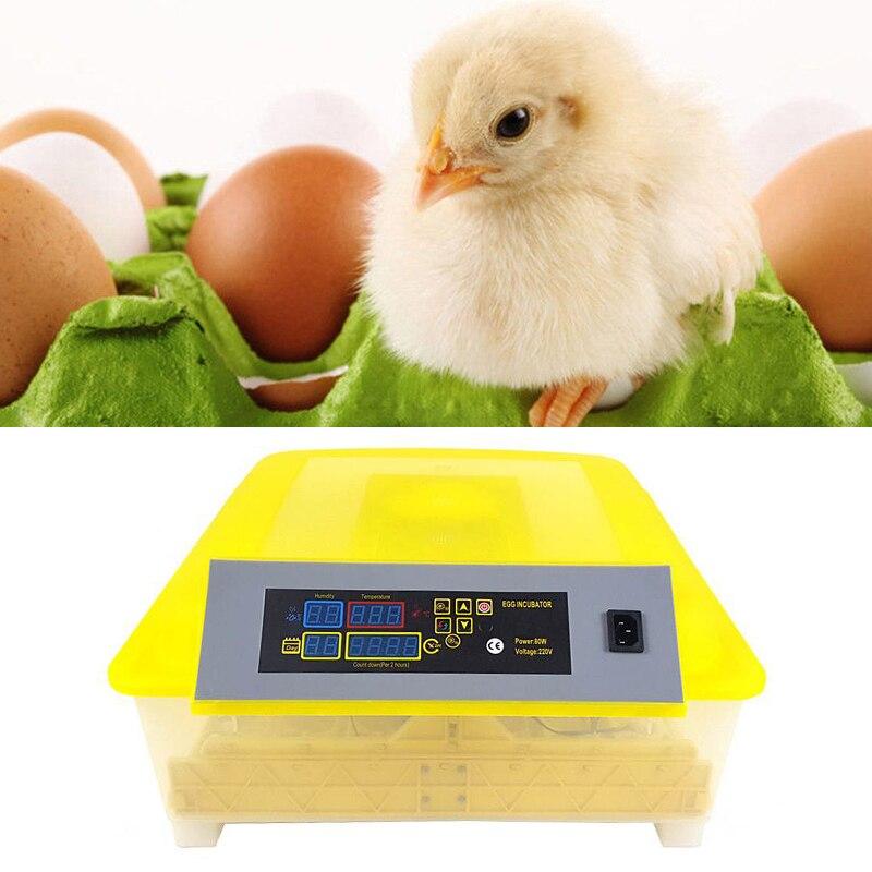 56 Incubatrice dell'uovo Digitale Completamente Automatico Mini Uovo Da Cova Macchina Tornio