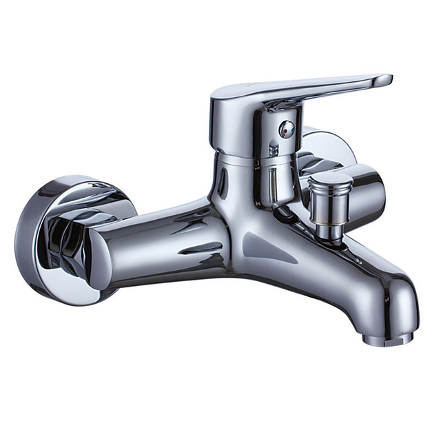 shower faucet. KES L5008 Bathroom Lavatory Bathtube Shower Faucet Wall Mount  Polished Chrome
