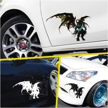 hot deal buy world of warcraft car stickers for the alliance tribe vehicle pull flower waterproof cover scratch car stickers -83