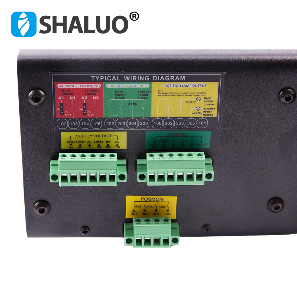 Image 4 - 250A 300A 4P ATS controller dual power automatic transfer switch parts 220V 380V electric diesel generator panel board 3phasecabinet switchswitch switchswitch cabinet -