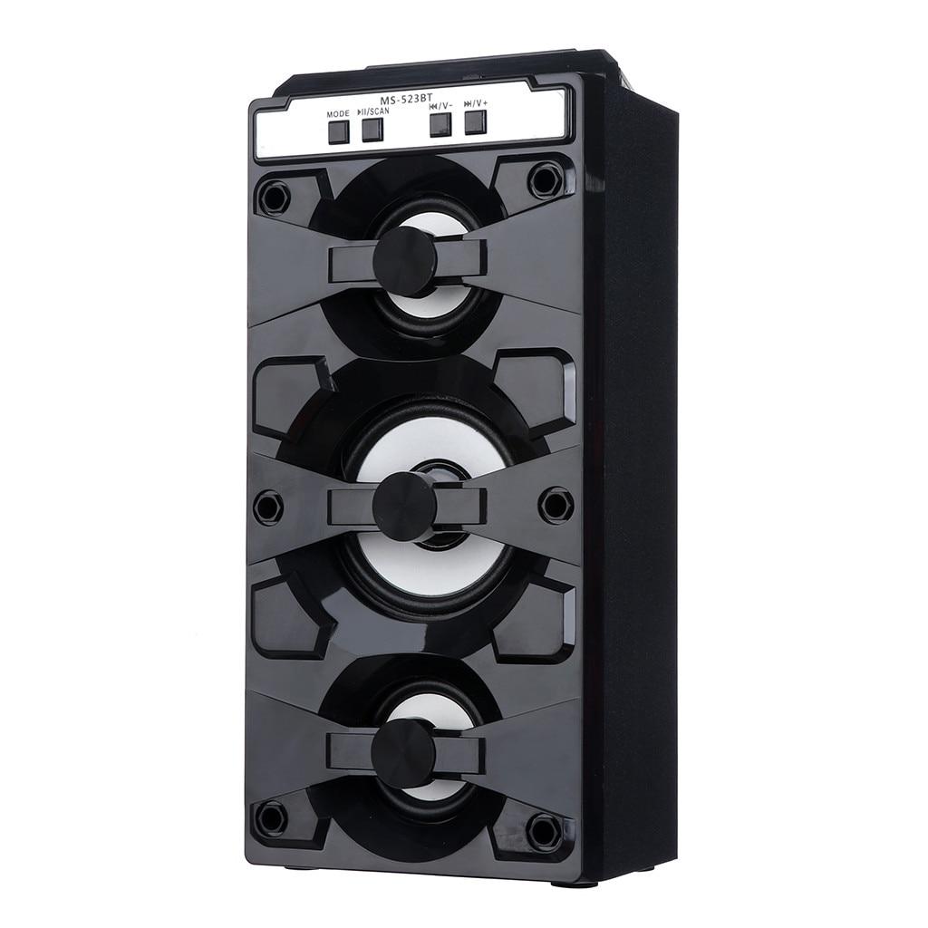 Lautsprecher Hifi Computer Lautsprecher Outdoor Bluetooth Drahtlose Tragbare Lautsprecher Super Bass Mit Usb/tf/aux/fm Radio # G4 Hindernis Entfernen Subwoofer Lautsprecher