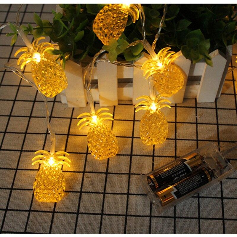 50led Fairy Nonwovens Maple Leaf Battery Operated String Light 5m Led Decoration For Christmas Garland New Year Gerlyanda 2018 Led String Led Lighting