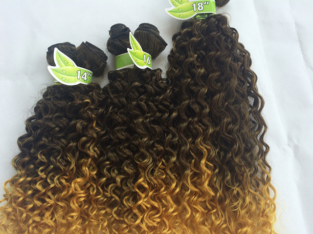 Best lady water wave crochet hair braiding extension new long best lady water wave crochet hair braiding extension new long curly synthetic hair extension 200g ombre pmusecretfo Choice Image