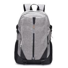 New Arrivals Men Canvas Backpack For 15/16 inch USB Anti-theft Computer Backpacks Daypack Women Travel Bags Mochila  LJ-936
