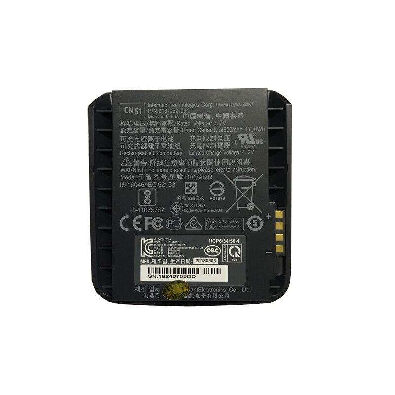 4600 mah batterie neuve pour Intermec CN50 CN51 AB25 AB24 1015AB02 batteries