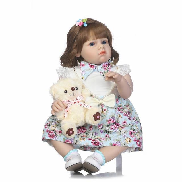 New Designed 70cm Big Size Toddler Reborn Baby Girl Doll