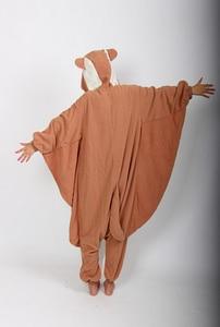 Image 4 - Kigurumi Fliegen Eichhörnchen Onesies Pyjamas Unisex Erwachsene Pyjamas Cosplay Kostüm Tier Onesie Nachtwäsche Overall