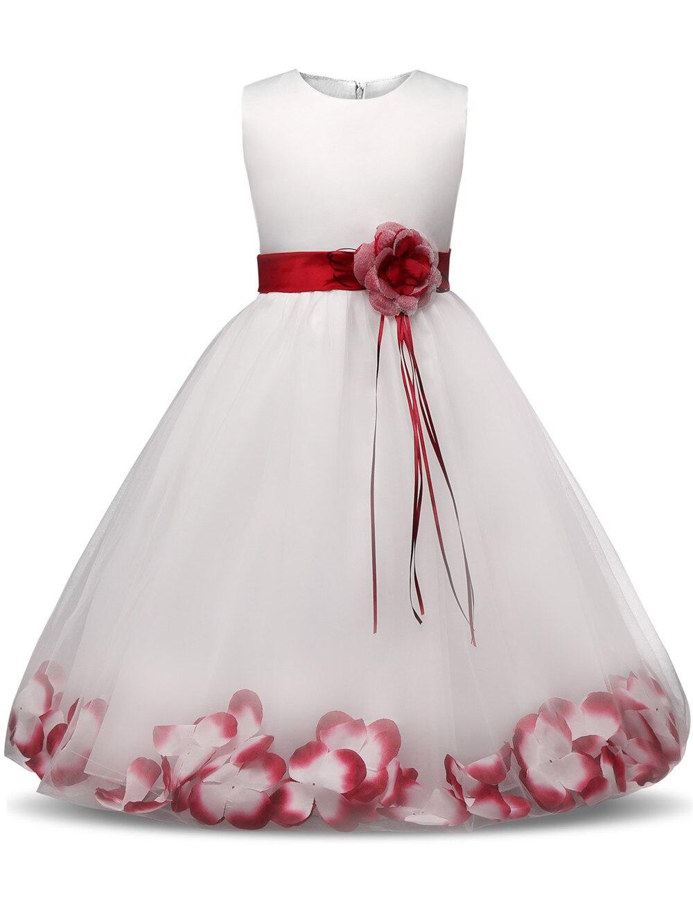 feecb414d0 US $8.17 13% OFF|Flower Girl Dress Summer Clothes Girl 2018 Baby Girl  Wedding Veil Dresses Kids's Party Wear Costume For Girl Children  Clothing-in ...