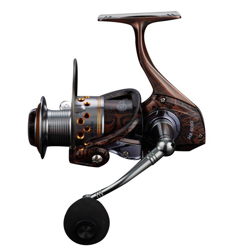 Lieyuwang 13 + 1BB 5.2: 1 Logam Berputar Reel Memancing Ikan Mas - Penangkapan ikan - Foto 4