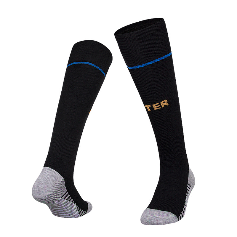 Soccer Socks Professional Clubs Football Thick Warm Inter Team Socks Knee High Training Long Stocking Sports Socks