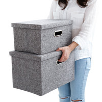 Home Decor Daily Convenienct Product Non woven Bamboo Charcoal Underwear Ties Socks Drawer Organizer Storage Box Case