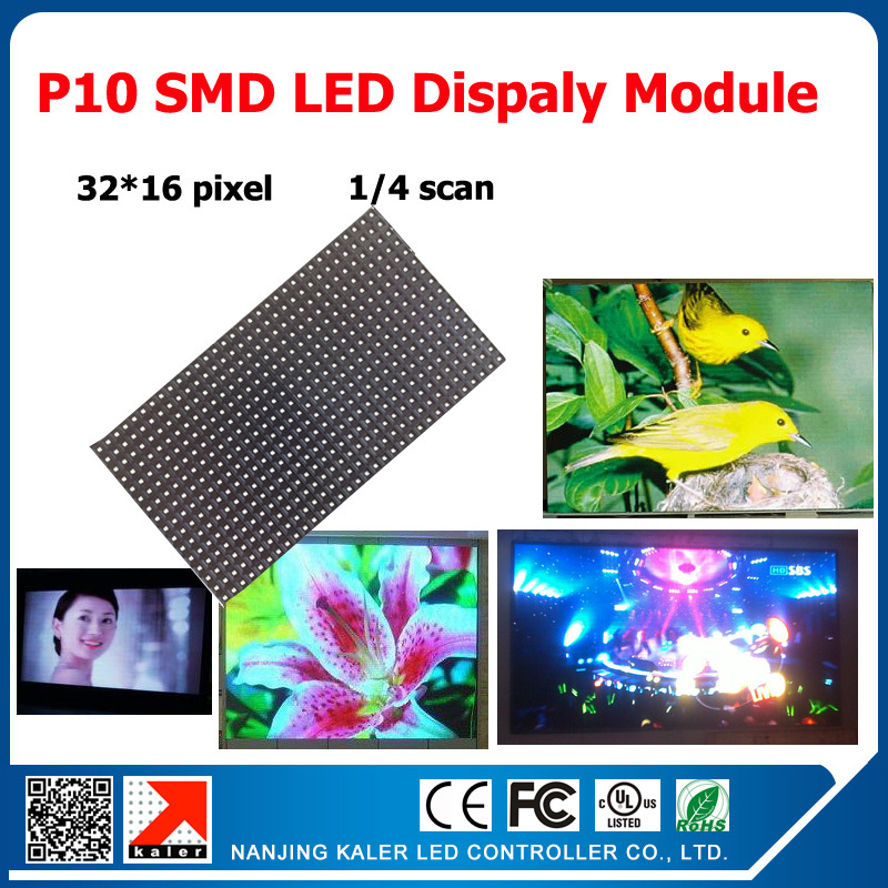 TEEHO Indoor Full Color Rgb Panel P10 Led Display Module 32*16 Pixel 320*160mm 1/4 Scan For Indoor Led Video Screen