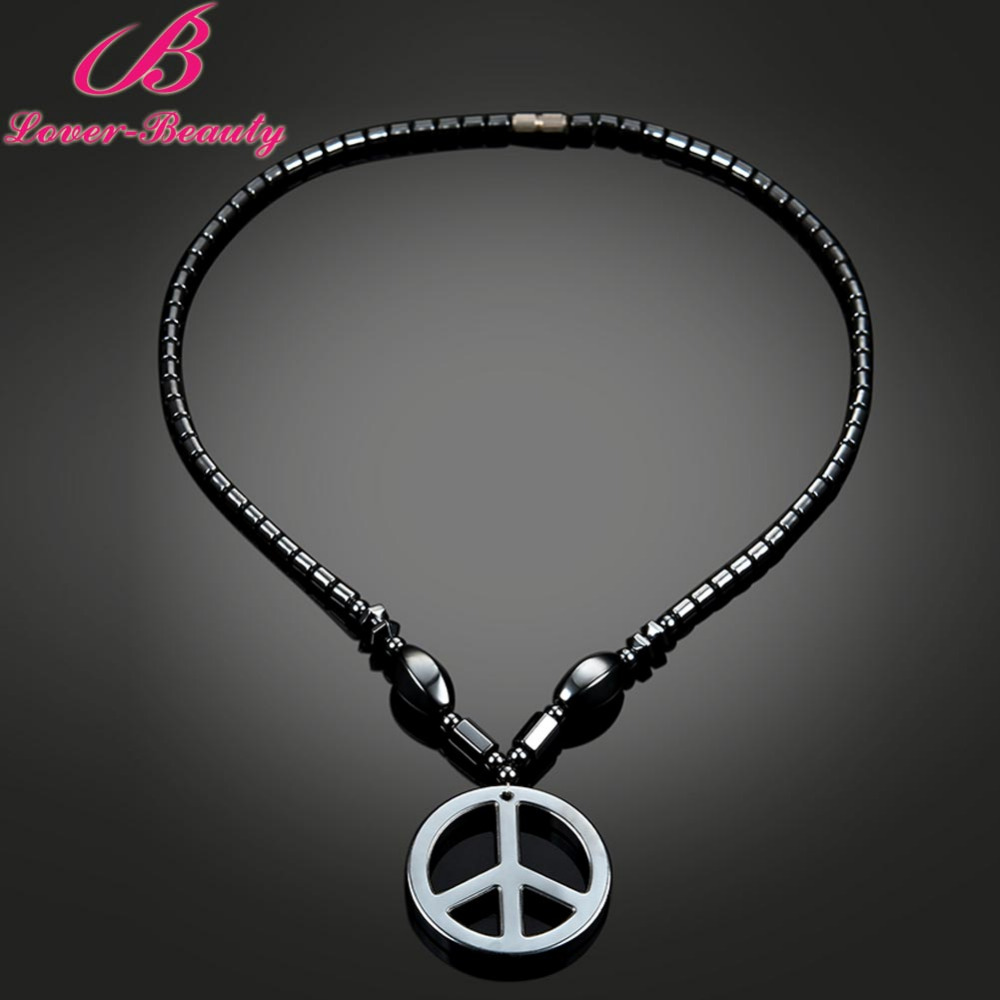 Lover font b Beauty b font Women Men Magnetic Bamboo Necklace Pendant Weight Loss Therapy font