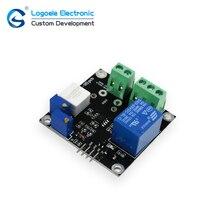 Alta qualidade DC 5 V módulo sensor de Corrente com relé de curto, saída analógica, nível TTL saída de Sobre-corrente de proteção atual