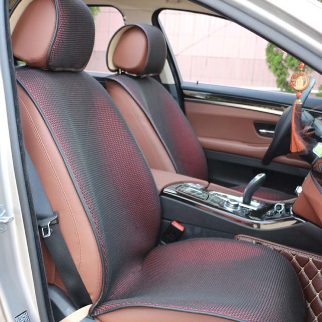 Universal Breathable Car Seat Cover Pad Cushion Protector Single Driver Front Mat For Sedan