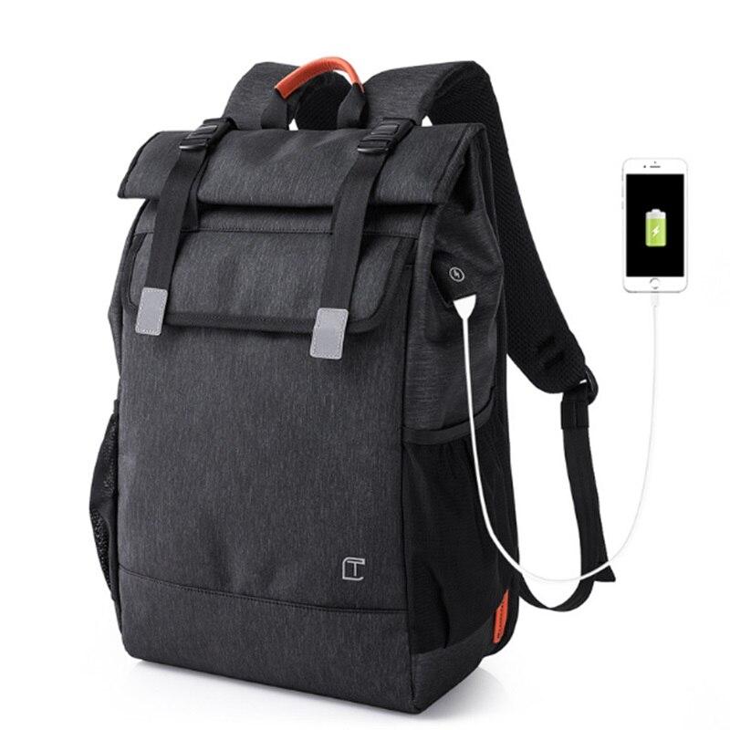Hommes sac à dos étanche Usb 15.6 pouces Designer sac à dos pour ordinateur portable grande capacité nouveaux sacs d'école pour adolescents cascadeur