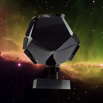 Romantyczny Planetarium gwiazda niebiański żarówka jak nocne niebo lampa Home Decor Celestial Star Astro niebo kosmos lampka nocna sypialnia home