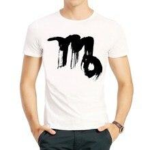 c048fc4de Virgo T Shirt Fashion Summer Short Sleeve White Color Zodiac Virgo Logo T  Shirts Top Tees T Shirt For Men Women