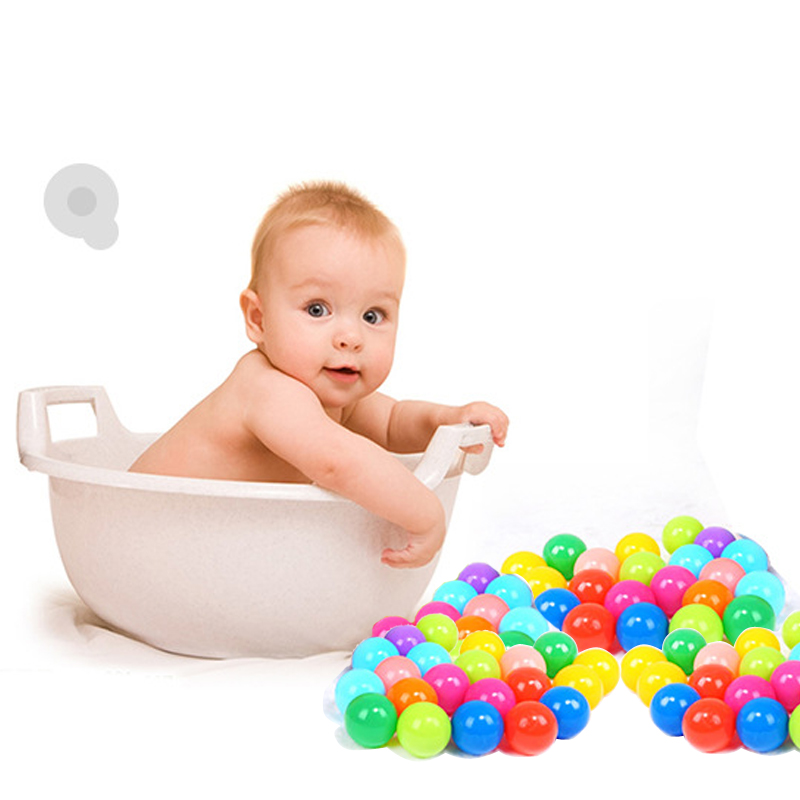 50//100//200Pcs Ocean Ball Plastic Colorful Balls Kids Secure Baby Swim Pool Toys