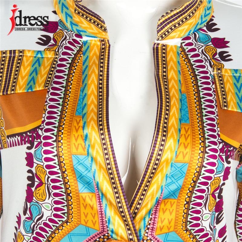 2017 Tunic Beach Dress New Boho Women Dress Sexy Sundresses Deep V Ethnic Dashiki African Print Big Size 3XL Woman SunDress Robe (5)