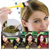 Mode Vatika Hohe Qualität Reine Natürliche Henna Haar Dye Temporäre Haar Dye Frauen Shampoo Bart & Augenbrauen Schnelle Farbstoff Haar pflege