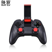 HAOBA Wireless Bluetooth Gamepad PC Joystick Cellular Phone USB Joystick For PC/IOS/Android/TV GEN GAME S6