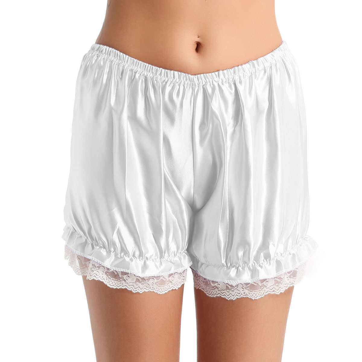 16 Years Lolita Porn us $3.87 16% off|tiaobug women girls lace hem lingerie shiny pumpkin  bloomers lolita shorts knickers security short pants sleepwear sissy