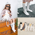 Fashion Hot Style Cotton Knee-High Sock Baby Girl Bowknot Sock Children's Socks Causal Stockings 8 Styles Girl Accessories