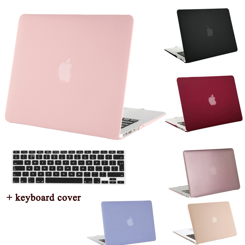 все цены на  MOSISO for Macbook Pro 13.3 15.4 inch Pro Retina 13 15 Crystal Matte Plastic Hard Case Cover for Mac book Air 13 11 Laptop Shell  онлайн