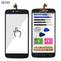 Hellowzxd 5 5 Mobile Phone Touch Glass For Homtom HT50 Touch Screen Glass Digitizer Panel Lens