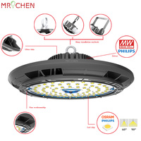 LED Spotlights Lights No Flicker 250W Work Warm Cool White Color Commercial LED Bulb Lighting For
