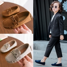 Spring New Children Loafers Flat Shoes For Kids Baby Boys Ca