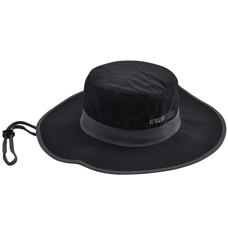 0e21d20fafb New High Quality Brand Quick-drying Bucket Hat Big Brim Casual ...