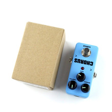 Mini Guitar Effect Pedal Guitarra Overdrive Booster High-Power Tube Guitar Simulation Chorus Effect Device FCH-2