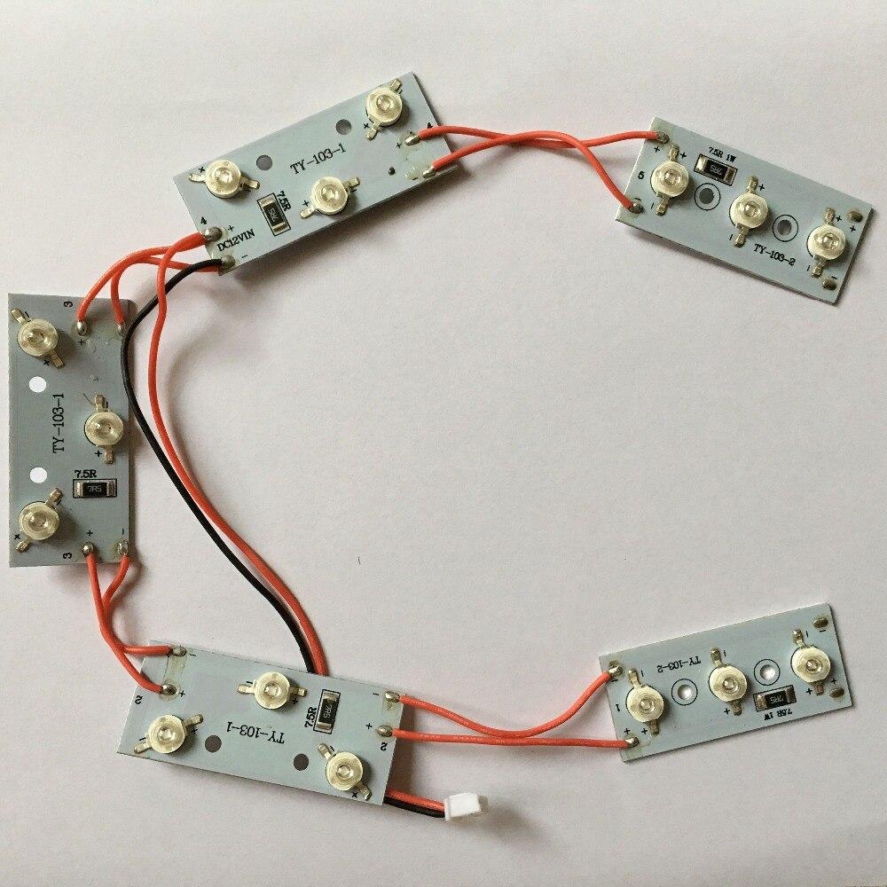 Remplacement LED Diodes Pour 48 W Nail Lampe, LED Diodes Pièces Pour Séchoir À Ongles