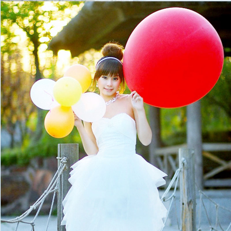 14 Colors 36 Inch Wedding Party Birthday Decoration Giant Round Latex Balloons