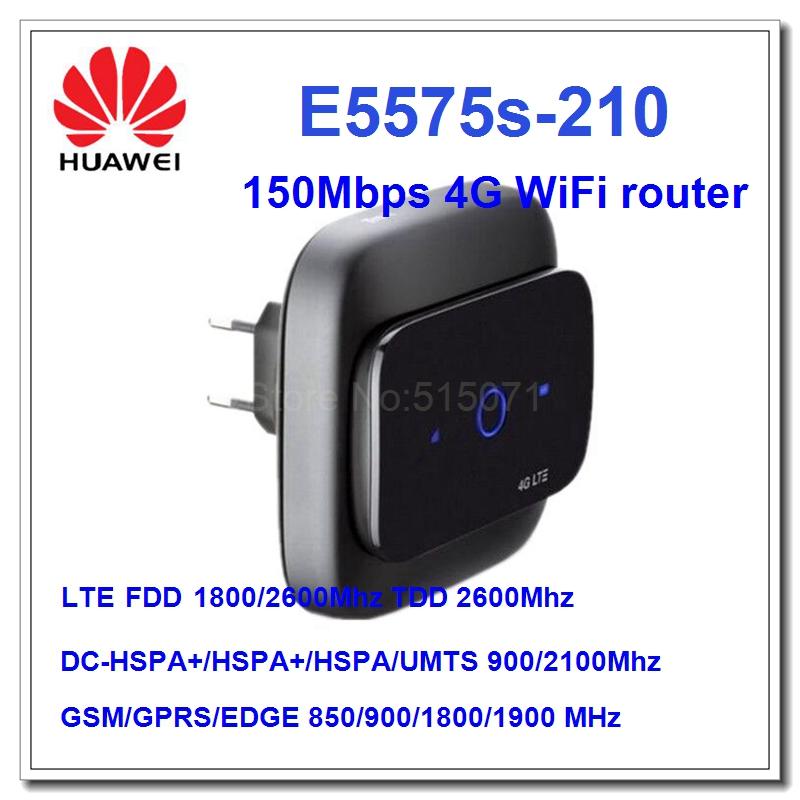 Prix pour Nouvelle Arrivée D'origine Déverrouiller 150 Mbps HUAWEI E5575 Portable 4G LTE Modem WiFi Routeur fdd 1800/2600 Mhz et tdd2600Mhz