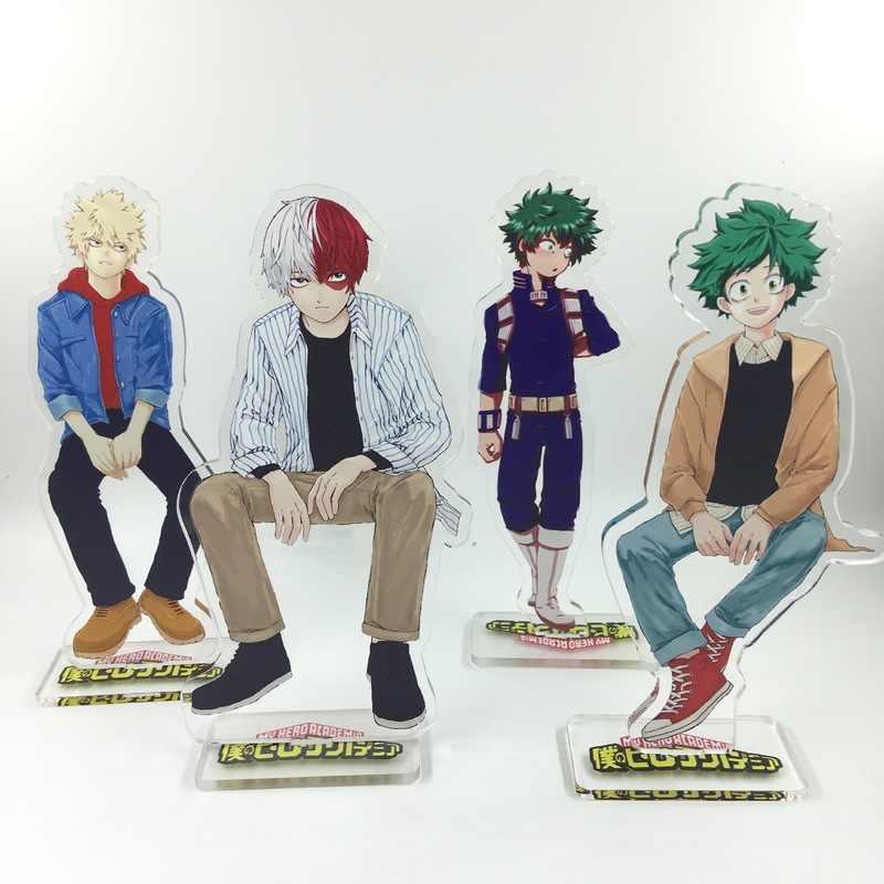 Anime My Hero Academia Keychain Midoriya Izuku Ochaco