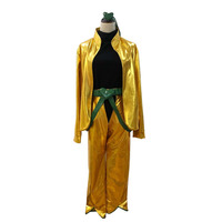 free shipping Customized JoJo's Bizarre Adventure movie Dio Brando Cosplay Costume from JoJos Bizarre Adventure