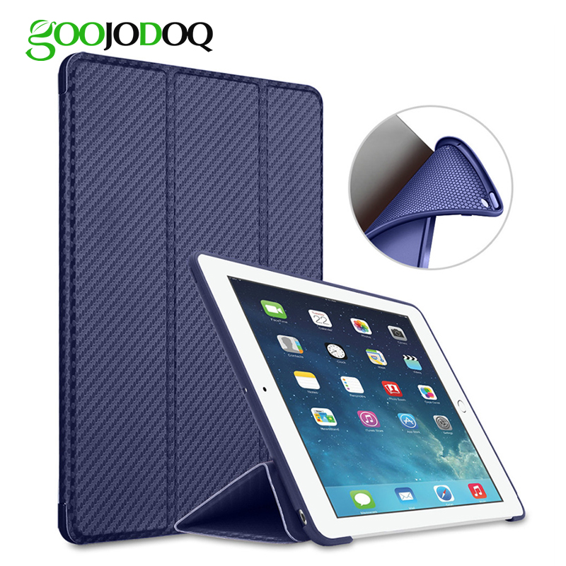 Case for iPad 9.7 inch 2017 2018 Case Silicone Soft Back A1822 A1823 Auto Sleep/Wake up Smart Cover for iPad 9.7 2017 Case 2018 case cover for ipad 9 7 2017 golp pu leather magentic smart cover soft tpu back protective case for ipad 2018 cover a1822 a1823