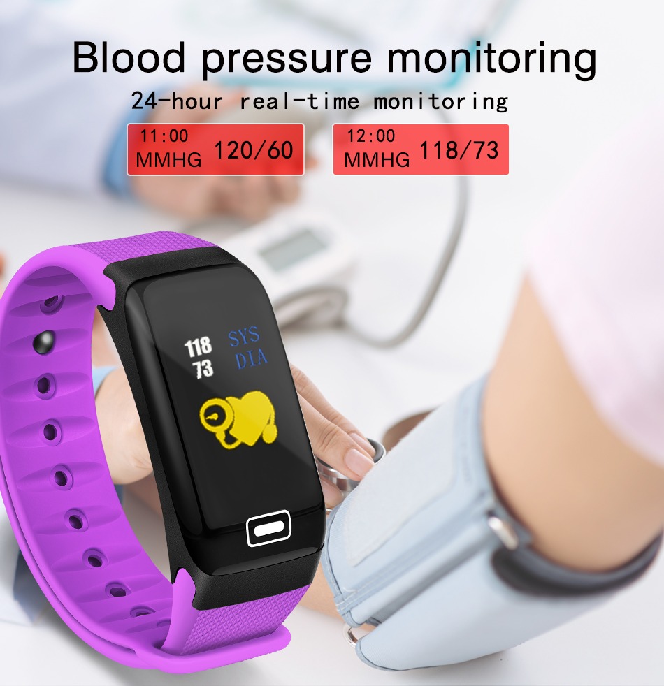 WISHDOIT Smart Sport Watch New Waterproof Watch Blood Pressure Heart Rate Detection Pedometer for ios Android Fitness Watch +Box 6
