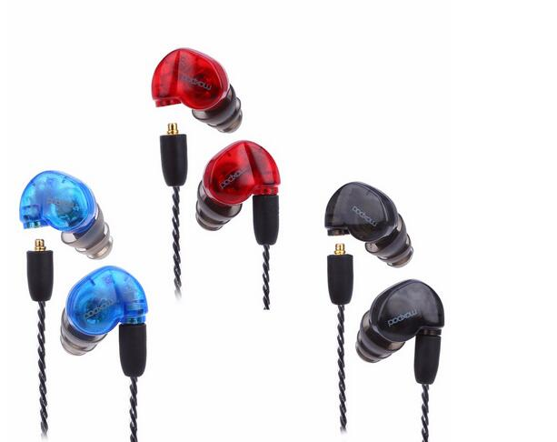 3colors Avaible! Moxpad X6 In-ear sport Earphones with Mic Detachable Cable Noise Isolatin headsets HQ headphones with box image