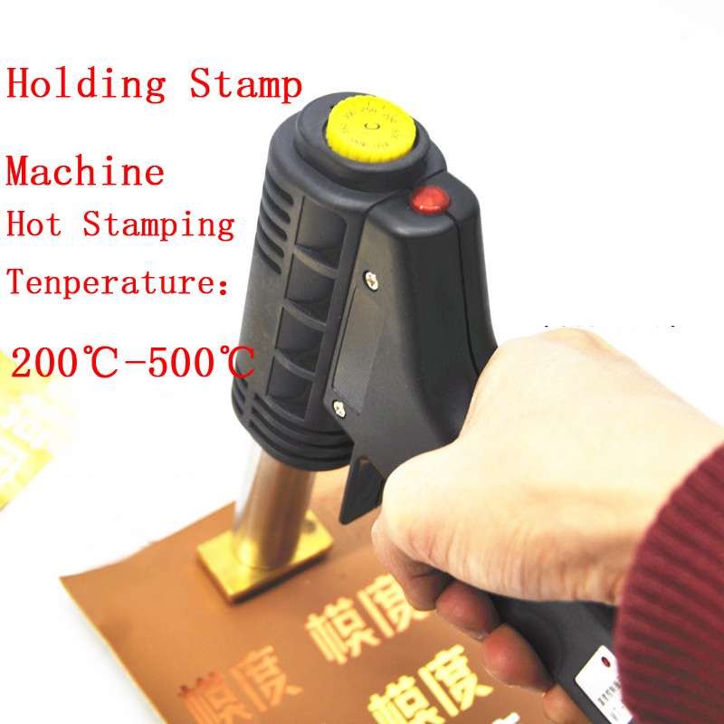 Handle Electric Iron cake mark hot Foil Stamp press embossing machine Printing logo Branding Machine electric